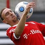 Jót káromkodott Ribéry és gyorsan meg is büntették