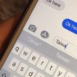 Ezentúl bárki nyugodtan beírhatja iPhone-jába a Taiwan szót