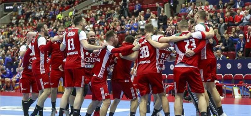 Szoros eredménnyel nyert a magyar kézilabda-csapat
