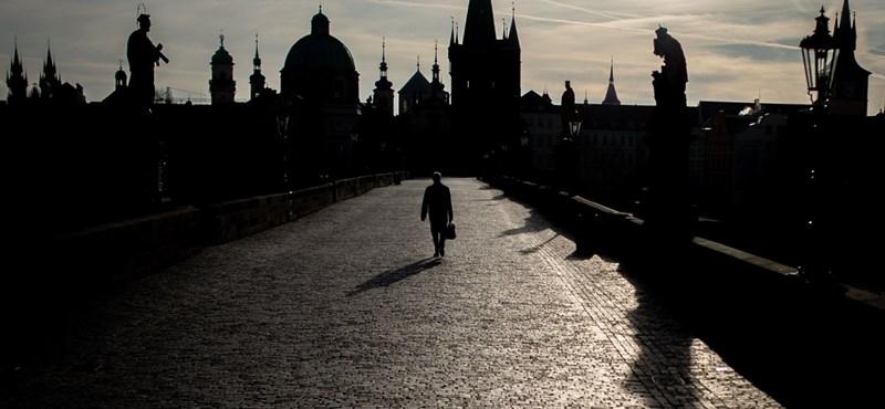 Megugrott a koronavírus-fertőzések száma Csehországban