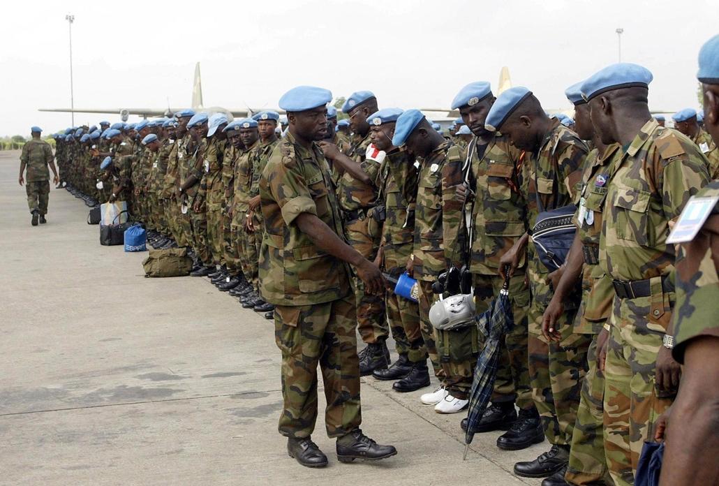 Nigériai katonák - beavatkozás Mali ügyekbe - Malinagyítás afp, Mali, algéria, francia beavatkozás -
