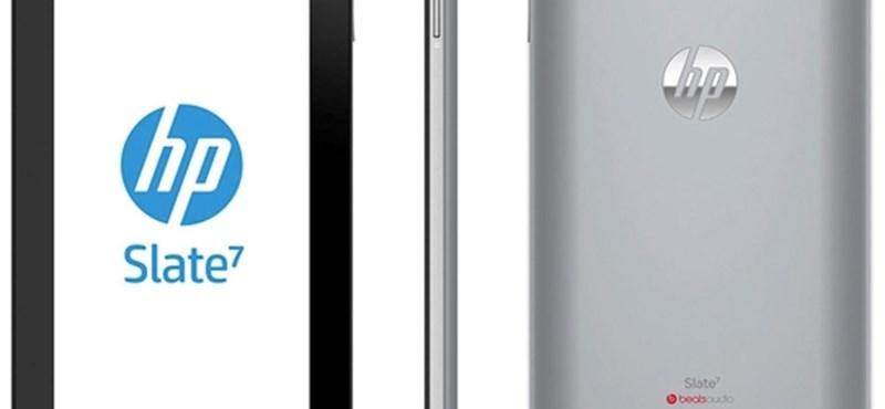 Nagyon olcsó Android táblagépet mutatott be a HP