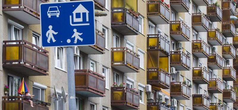 A csok miatt 45 millió forintra ugrott az új lakások átlagára Budapesten