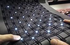 Kínában megcsinálták az e-textilt, ami kijavítja magát