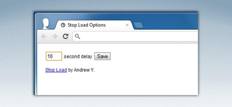 Állítsa meg automatikusan a weboldalak hosszas betöltődését!