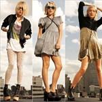 Meztelen arcok, egyszerű vonalak - divatforradalom? (nagy fotók)