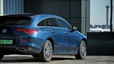 Mercedes CLA Shooting Brake plugin teszt: nem csak attól jó, mert magyar