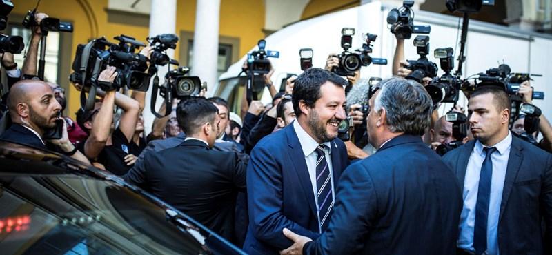 Orbán: Salvini kiemelt tiszteletet élvez Magyarországon – videó