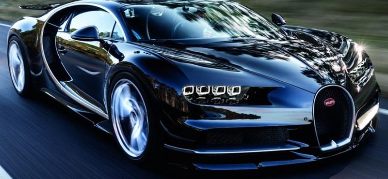 780 millió forintos álom: Idén 70 darab 1500 lóerős Bugatti Chiront adtak át