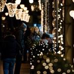 Csillog-villog Budapest: így árasztották el a karácsonyi fények a várost