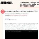 Így lángolt egy autó Budán - videó