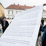 Közbeavatkoztak a rendőrök a Sándor-palotánál
