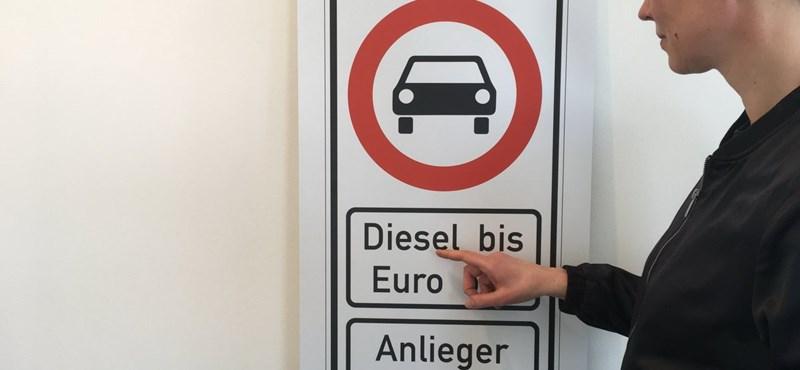 Hamburgban lesznek az első dízelmentes utcák