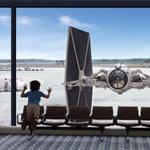 Darth Vader a reptéren járt
