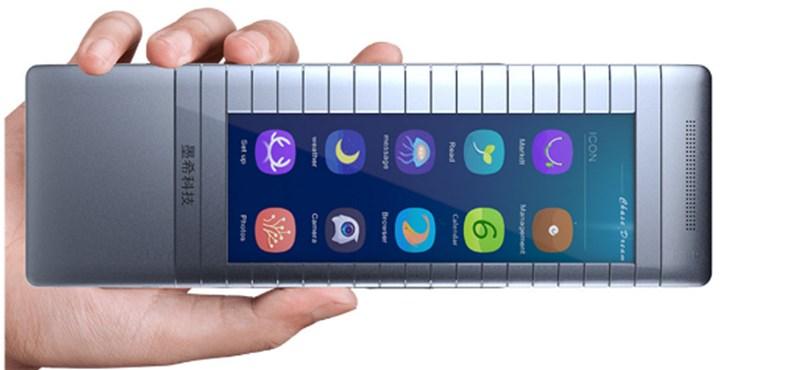 Kiderült, ki áll a tényleg hajlítható (csuklóra tehető) okostelefon mögött
