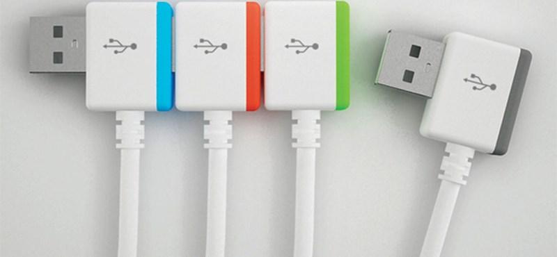 Másodpercenként 800 mega - duplázódik az USB sebessége