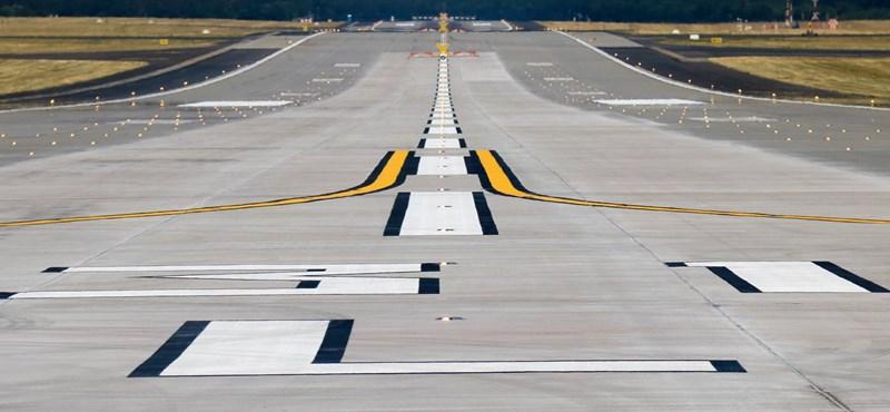 Felszállt az első repülő Ferihegy 30 év után megújított futópályájáról – fotók