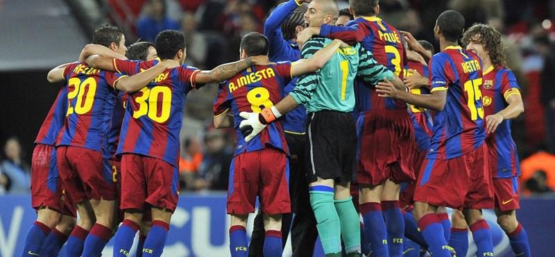 BL: hazatért a győztes Barcelona