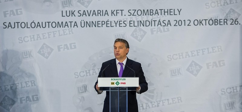 Orbán: új autóipari háromszög alakul Magyarországon