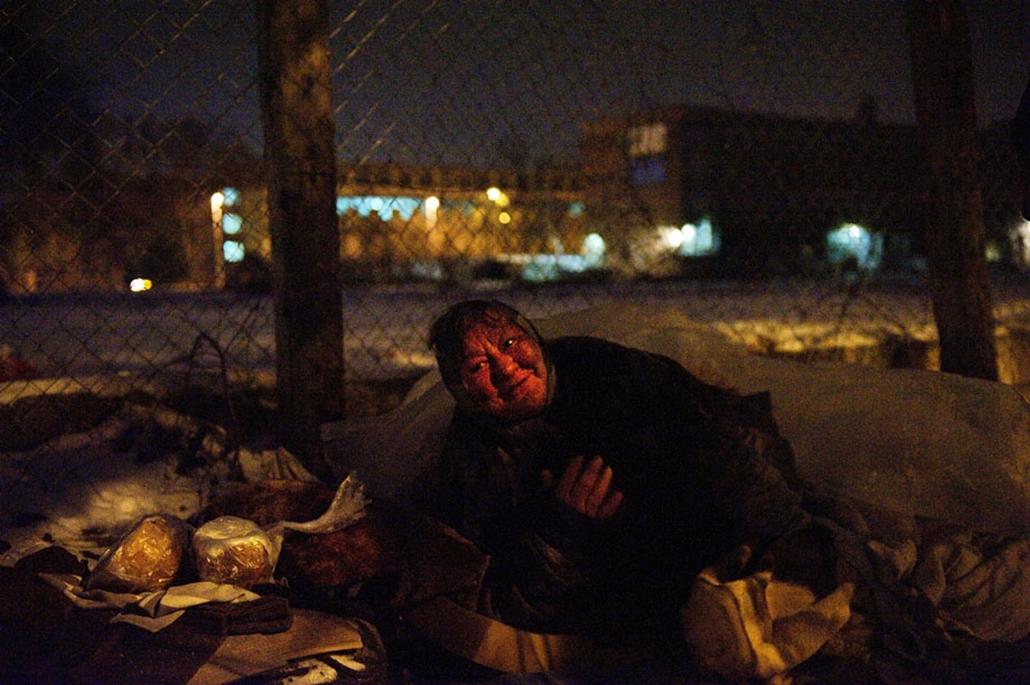 hajléktalan nagyítás