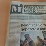Kitört a Soros-vész a Magyar Időkben - fotók