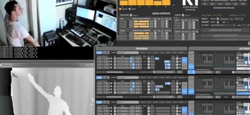 Orgonaverseny Kinect irányítással [videóval]