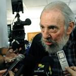 Trendi kabátban szavazott Fidel Castro, majd egy órát beszélt