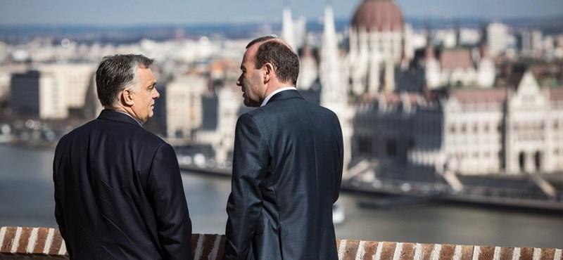 Orbán alkalmatlannak tartja Webert