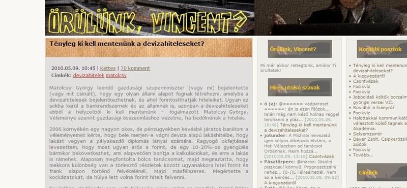 """""""Matolcsy törvényjavaslatában a gyűlölet fortyog"""""""