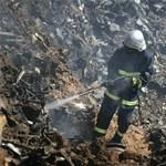 Sokkoló képsorok az iráni légikatasztrófáról