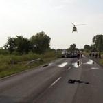 Meghalt egy rendőr az 5-ösön – helyszíni fotókat tettek közzé