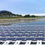 Vízre tették a napelemeket Szingapúrban is