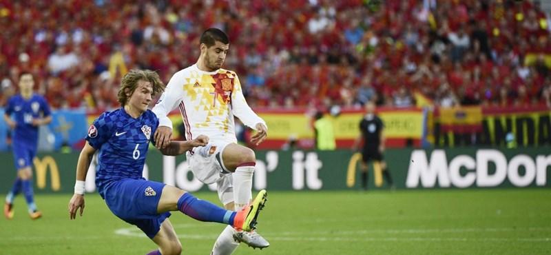 Nem volt otthon Morata, mert a válogatottban focizott – kirabolták a lakását