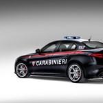 Alfa Romeo Giulia Carabinieri Quadrifoglio, lehet-e szebb neve egy rendőrautónak?