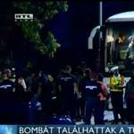 Pintér elárulta, miért volt csőbomba egy buszon az M0-son