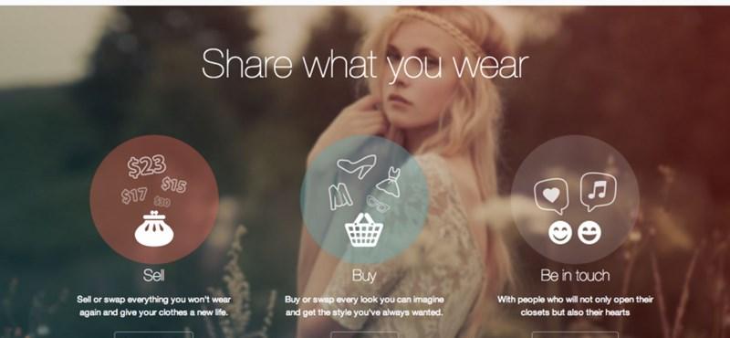 Jó üzlet lehet a ruha-Facebookként működő turkáló