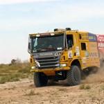 Ezüstérmet szerzett a magyar kamion az Africa Eco Race-en