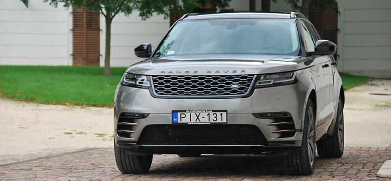 Isten hozta, felség! – kipróbáltuk a Range Rover Velart
