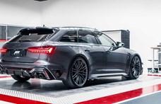 Családi kombi 740 lóerővel, itt az új Audi RS6-R
