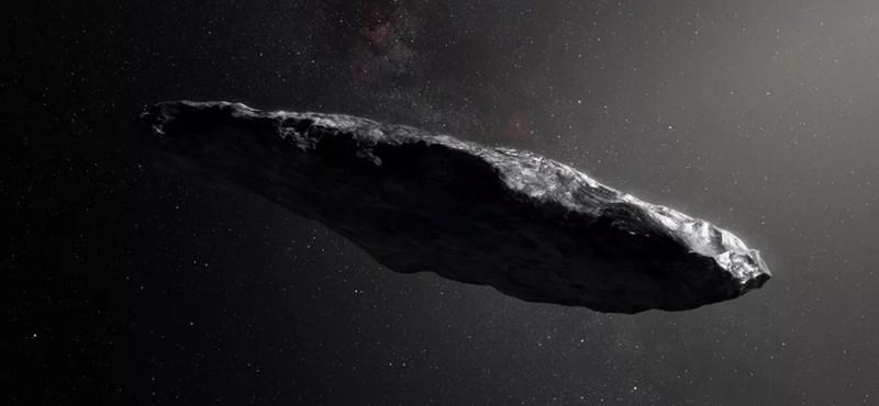 """Mégiscsak ufó lehet az a hosszúkás """"üstökös"""""""