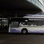 Gázos buszt tesztel a fővárosi közlekedés