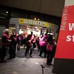 Berlin repterein véget ért a sztrájk