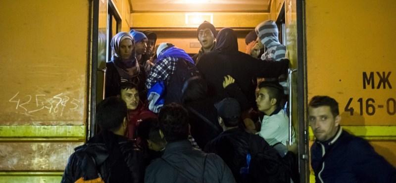 Még mindig ezrével lépik át a menekültek a macedón-szerb határt