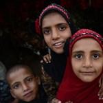 Indiában a bicikli a lányok számára az iskolába járás záloga