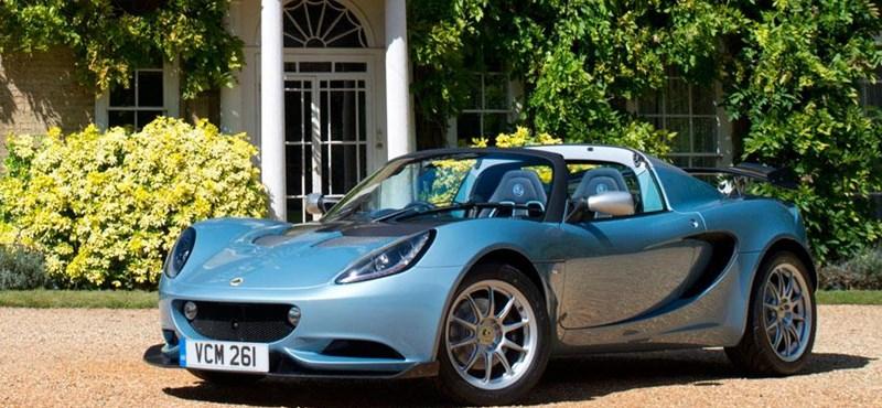 Egy ilyen szuperkönnyű Lotus Elise-zel mi is ünnepelnénk