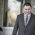 A macedón parlament felfüggesztette Gruevszki mentelmi jogát