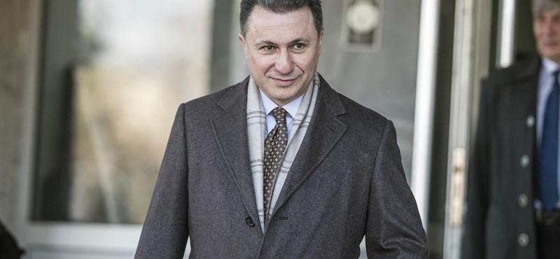 Megszüntették a nyomozást Gruevszki ügyében