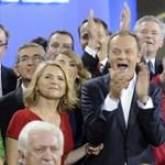 Még mindig számolják a lengyel szavazatokat, nő Tuskék előnye