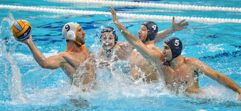 Megszerezte az olimpiai kvótát a magyar férfi vízilabda-válogatott
