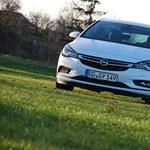 Opel Astra K-teszt: ezt fogjuk a könnyű Astrának hívni